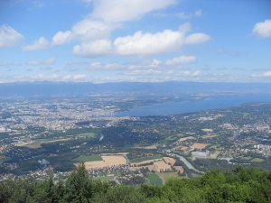 View from Mont Saleve